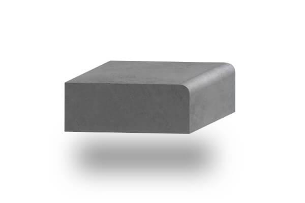 worktop edge round 60mm