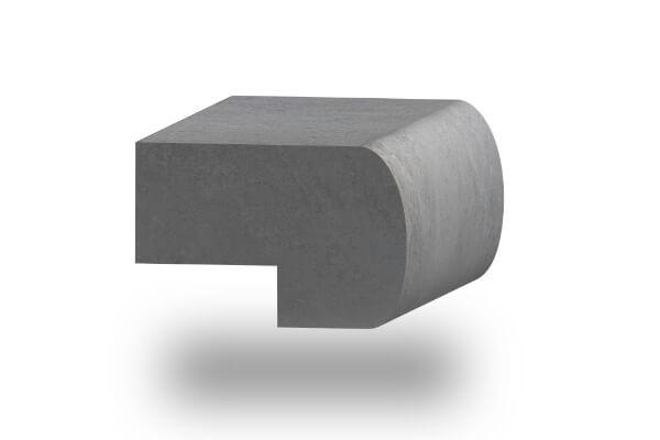 worktop edge bullnose 60mm