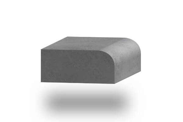 worktop edge half bullnose 30mm