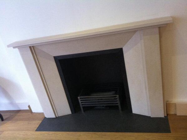 limestone fireplace london