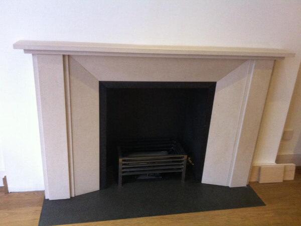 limestone fireplace notting hill