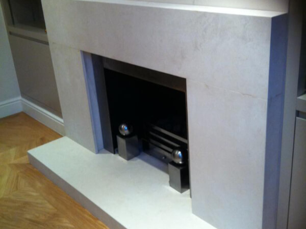 quartz fireplace london